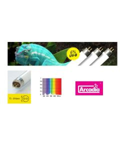 für €17,33, Arcadia D3 Forest T5 24/39/54W Reptilienlampe, 6/30% UVB/UVA